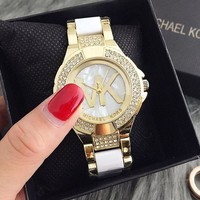 MK Ladies Men Fashion Quartz Watches Wrist Watch-6