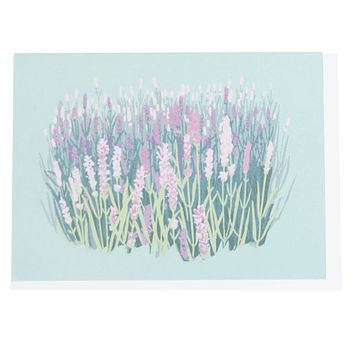 Lavender Boxed Note Cards
