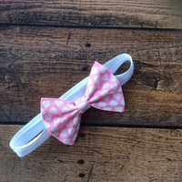 Valentine's Day Collection - Pink Hearts Headband