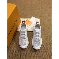 lv louis vuitton men fashion boots fashionable casual leather breathable sneakers running shoes 574
