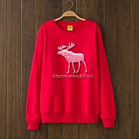 Abercrombie & Fitch Woman Men Top Sweater Pullover