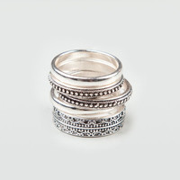 FULL TILT Piece Mixed Ring Set 150488140 | Rings