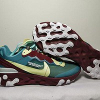 DCCK Nike Upcoming React Element 87 Red/Green 36-45
