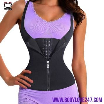 Adjustable Shoulder Strap Waist Trainer Vest Corset