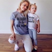 New 2017 Mother Daughter T-Shirts