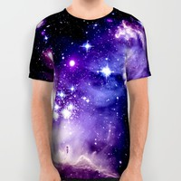 Galaxy .  All Over Print Shirt by 2sweet4words Designs