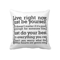 THE MIDDLE - SONG LYRICS - JIMMY EAT WORLD PILLOW