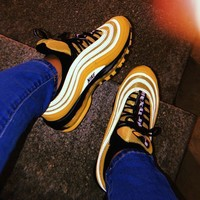 Nike Air Max 97 Premium Yellow Sneakers