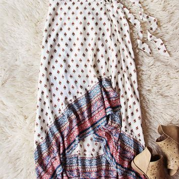 Fall Fortune Wrap Skirt