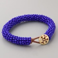 Tory Burch Logo Beaded Bracelet | SHOPBOP