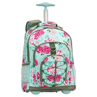 Gear-Up Garden Party Floral Rolling Backpack