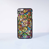 iPhone 7 7Plus - Disney All Characters Stained Glass Plastic Case Cover for Apple iPhone 6 Plus 4 4s 5 5s 5c 6