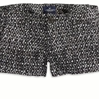 AEO 's Factory Printed Twill Shortie