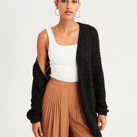AE Cocoon Cardigan, Charcoal