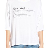 Project Social T 'New York' Graphic Tee | Nordstrom