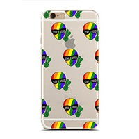 for iPhone 6/6S Plus - Super Slim Case - Stay Weird - Alien Gay Pride - Lgbt Pride - Alien Gifts (C) Andre Gift Shop