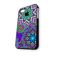 Apple colorful Foral iPhone 5C Case