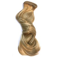 """Indian Remy Bodywave Human Hair Extensions - Wefted Hair 18"""""""
