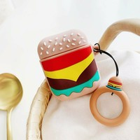 Burger Protective Airpod Case