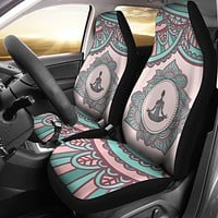 Yoga Mandala Car Seat Covers