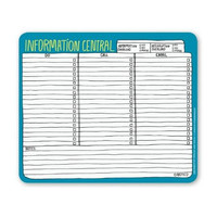 KNOCK KNOCK HAND WRITTEN INFORMATION CENTRAL MOUSEPAD