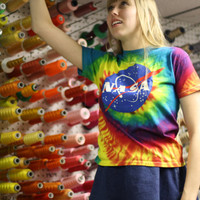 Nasa Meatball Tye Dye T-Shirt