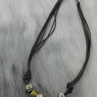 Spun Metal Necklace