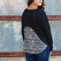Back It Up Knit {Black}