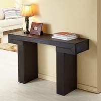 Tiffy-Tee Black Finish Sofa Table