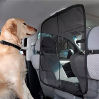 Automobile Pet Car Safety Barrier - Keep your friend safe in the back