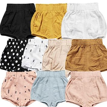 Cotton girls and boys shorts spring children shorts children shorts for boys clothes toddler girl boys clothes