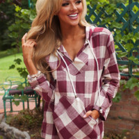 Fashion Hooded Long-Sleeved Blouse
