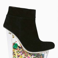 Jeffrey Campbell Icy Platform Wedge - Glitter