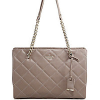 Kate Spade New York - Emerson Place Quilted Leather Tote - Saks Fifth Avenue Mobile