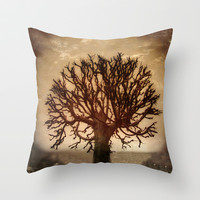 Crown Throw Pillow by Armine Nersisian
