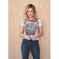 Roll Heavy Tie-Dyed Shrunken Women's Crew