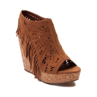 Womens Not Rated Fringe Del Wedge