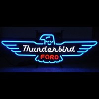 Ford Thunderbird Atuo Car Neon Sign