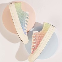 Rainbow Mesh Low Top Sneakers