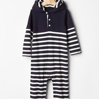Gap Baby Hooded Stripe One Piece