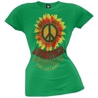 Woodstock - Peace Juniors T-Shirt