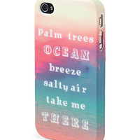 Aeropostale  LLD Ocean iPhone 4/4S Case