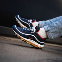 NIKE Air Max 97 Bullet air cushion running shoes-4