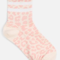Leopard Sporty Tube Socks - Socks & Tights - Bags & Accessories