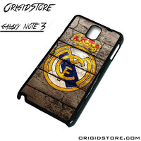 Real Madrid Wooden Case For Samsung Galaxy Note 3 Case