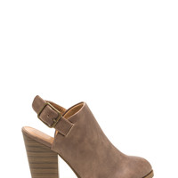 City Stroll Faux Leather Booties