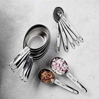 Williams Sonoma Stainless-Steel Nesting Measuring Cups & Spoons Sets
