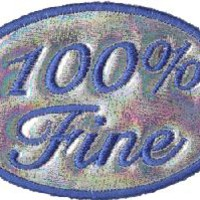 Iron-on Patches - 100% Fine Sassy Iron-on Patch