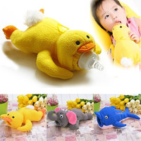 Animal Cover Baby Infant Feeding Bottle Feeder Case Insulation Keep Warm Holder = 1713301252