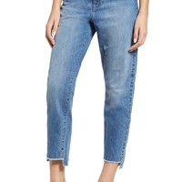 DL1961 Susie High Waist Tapered Crop Slim Jeans (Addison) | Nordstrom